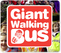 Giant Walking Bus
