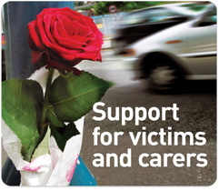 Support for victims and carers